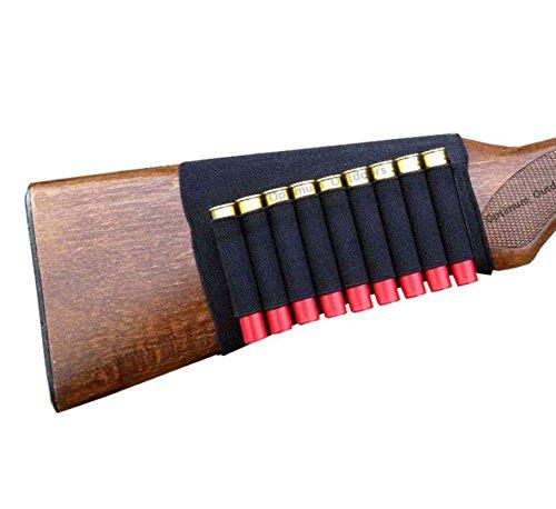 .410 Gauge GA Shotgun Butt Stock 9 Shell Cartridge Holder Buttstock Ammo Shot Gun Neoprene