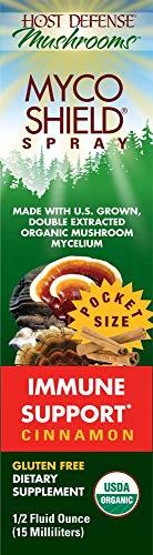 MycoShield Spray Citrus Flavor Fungi Perfecti/Host Defense 0.5 fl oz Liquid