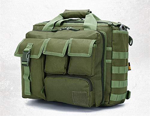 Jaycel-Ginny Multifunctional Outdoor Computer Bag - Oxford Waterproof Tactical Shoulder Bag for Traveling, Camping, Trekking & Hiking,ArmyGreen