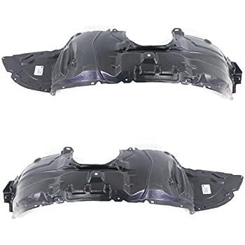 Partslink Number MA1249138 OE Replacement Mazda Mazda3 Front Passenger Side Fender Inner Panel