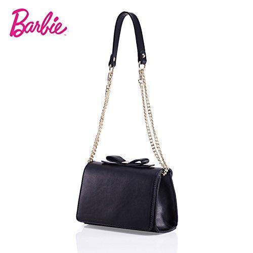 BarbirBBFB312 2017 Colección Nueva Bolsos Mujeres de Princesa Casual de Simple Moderno Negro