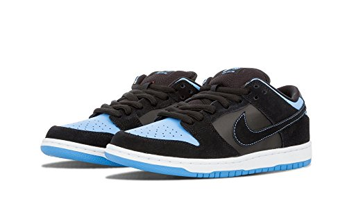 Nike SB Dunk Low Pro (Black/BlackUniversity Blue) Men's Skate Shoes