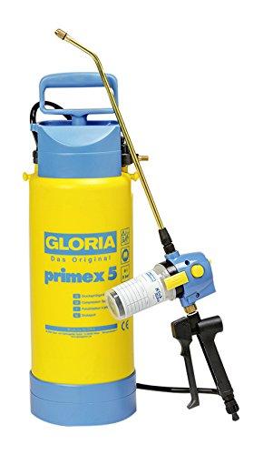 Gloria Drucksprüher mit Mitteldosierung Primex 5 mit Klick und Go Refill, gelb
