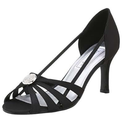 Touch Ups Women's Gemini Sandal,Black,6.5 M