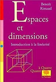 Espaces et dimensions par Benoît Rittaud