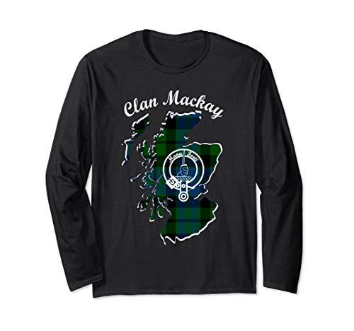 (Mackay surname last name Scottish Clan tartan badge crest)