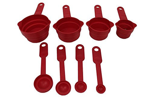 Kitchen Collection 8-pc Measuring Cup Set - Assorted Colors 04909