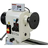Shop Fox W1758 Wood Lathe With Cast Iron Legs And