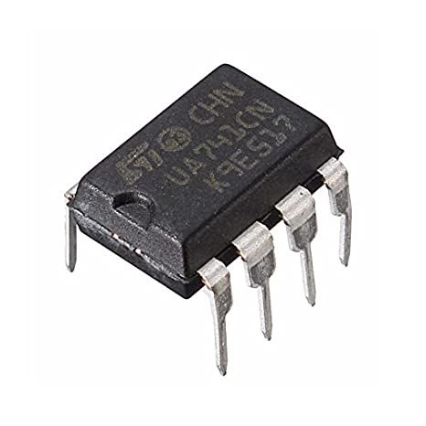 Bluelover 10Pcs Ua741Cn Dip-8 Ua741 Lm741 St Ic Chip ...