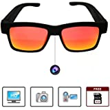 EXOSHADES Smart Glasses - 1080p HD Video Camera Glasses for Recording Sports and Outdoor Activities - Sunglasses with Camera - Stylish UV Protection Sunglasses (Comes with Free 16GB MicroSD Card)
