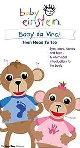 Amazon Com Baby Da Vinci From Head To Toe Baby Einstein