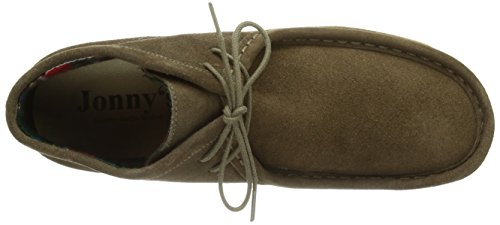 Jonny's Namo - botas desert de cuero mujer beige - Beige (lodo)
