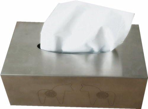 IKEA – -tallrik Caja Rectangular de acero inoxidable para pañuelos 23,5 x 12,7 x 9,5 cm: Amazon.es: Hogar