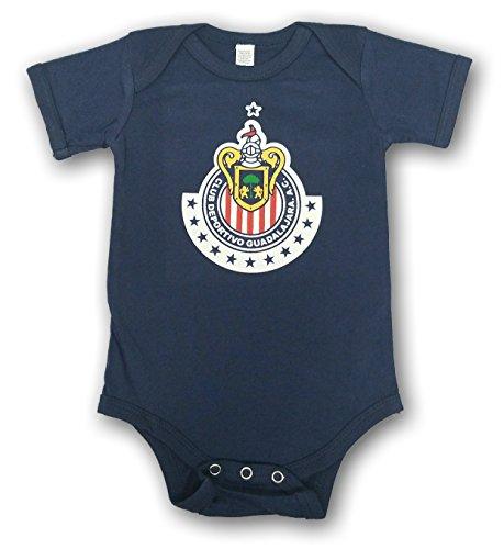 638d658d865 ESF Chivas de Guadalajara Baby Bodysuit Mameluco Jumpsuit Exclusive Design  (6-12 Months,