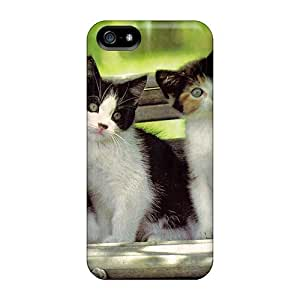 Awesome Design More Three Kittens Hard Case Cover For Iphone 5/5s