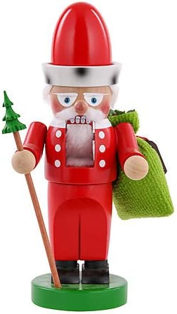 Steinbach Chubby Santa Claus Nutcracker Handmade Germany 12 S1338