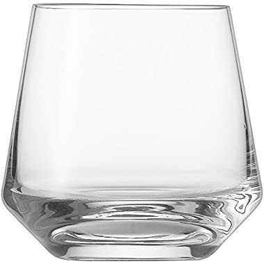 Schott Zwiesel Tritan Crystal Glass Pure Barware Collection Whiskey/Small Old Fashioned Cocktail Glass, 10.3-Ounce, Set of 6