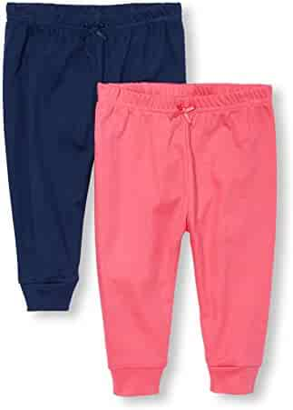 The Children's Place Baby-Girls' Sweet Li'l Comfy Pants (Pack of 2)
