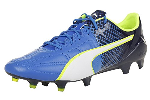 Puma Herren Evospeed 1.5 LTH FG Fußballschuhe Electric Blue Lemonade-puma White-peacoat 02