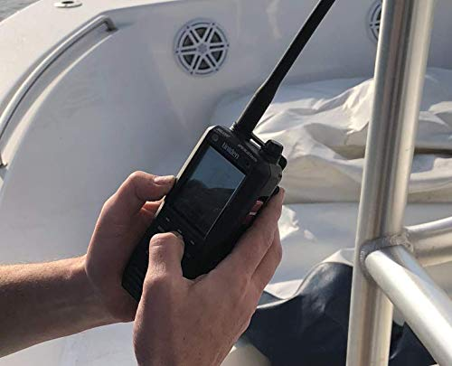 Uniden MHS335BT 6W Class D Floating Handheld VHF Marine Radio with Bluetooth, Text Message Directly to Other VHF Text Message Capable Radios, IPX8 Submersible Design by Uniden (Image #6)