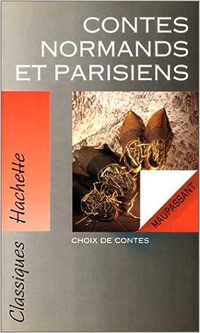 Couverture de Contes normands et parisiens