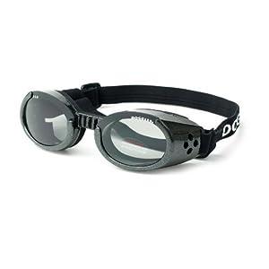 Doggles ILS XL Metallic Black Frame and Smoke Lens