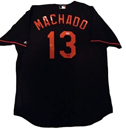 buy online 8a69d 26b50 Manny Machado Signed Jersey - Orioles - PSA/DNA Rookie Graph ...