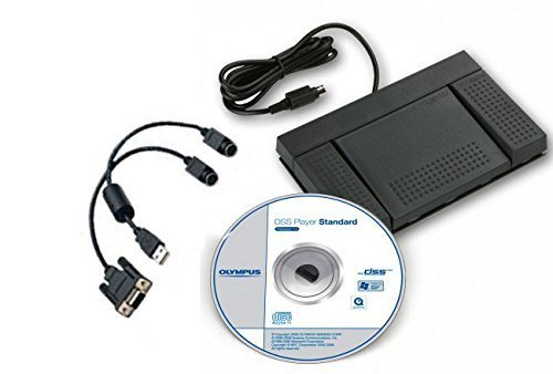 Olympus DSS Transcription Software with USB Foot Pedal