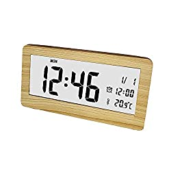 Digital Clocks for Bedrooms Smart Alarm Clocks Creative Ultra-Slim Portable Electronic Alarm Clock