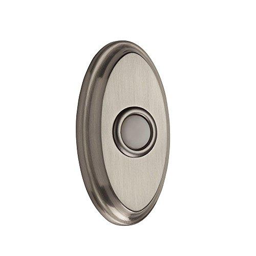 - Baldwin 9BR7016-002 Oval Bell Button