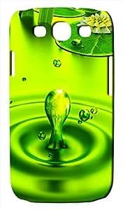 Generic 3D Art Ladybug on Leaf Waterdrop Hard Case for Samsung Galaxy S3