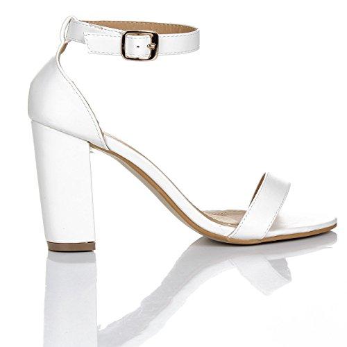 Glamz Sandali Sandali Glamz White Donna wTPTHq