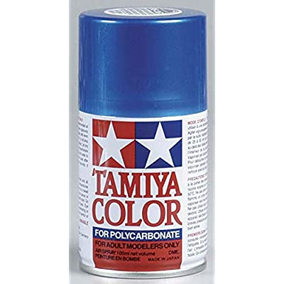 Tamiya America, Inc Polycarbonate PS-16 Metal Blue, Spray 100 ml, TAM86016: Toys & Games