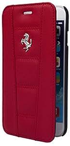 Ferrari 458 funda con tapa para iPhone 5 - rojo