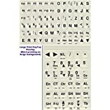 Keyboard Stickers With White Letters - Best Reviews Guide
