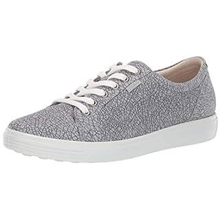 ECCO Women's Soft 7 Sneaker, Concrete Magnet/Concrete, 35 M EU (4-4.5 US)