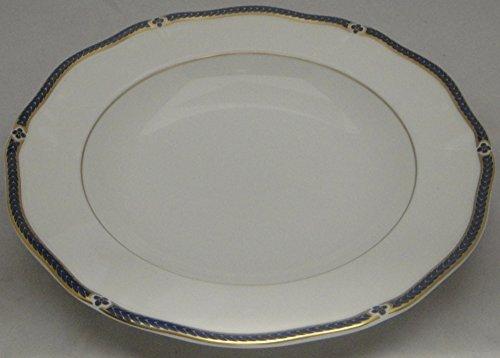 Blue Large Rim Soup Plate - Wedgwood Royal Lapis Large Rim Soup Bowl