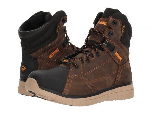 Wolverine(ウルヴァリン) メンズ 男性用 シューズ 靴 ブーツ 安全靴 ワーカーブーツ Rigger Mid Summer Brown [並行輸入品] B07DNQ142V 13 D Medium