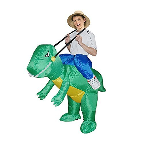 TOLOCO Inflatable Costume | Inflatable Costumes For Adults Or Child | Halloween Costume | Blow Up Costume (Dinosaur (Halloween Costumes Unique)