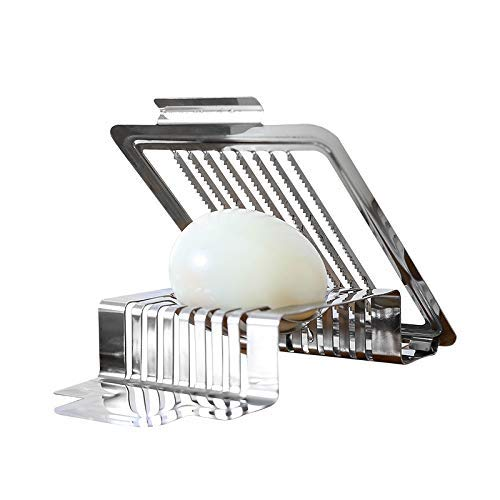 Acero inoxidable máquina de cortar el huevo hervido cortador de ...