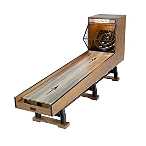 BARRINGTON Roll and Score Game Set, 10' – Vintage Games for Arcades, Fairs, Carnivals, Rec Rooms, Playrooms, Bars – Speedball Bowling Machine with LED Lights and Electronic Scorer – for Adults, Kids