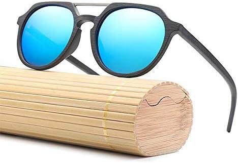 Placa piloto Gafas de Sol de Madera Gafas Hombres de Moda ...