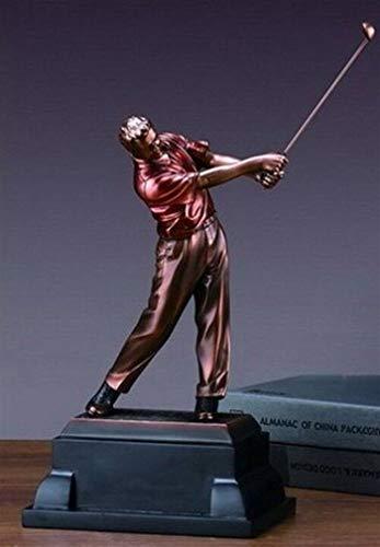 Ky & Co YesKela Swinging Golf Trophy - Statue