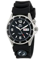 Orient Mens CEM65004B Black Mako Automatic Rubber Strap Dive Watch