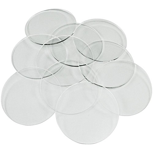 1.5mm Clear Miniature Bases, Circular 50mm (10)