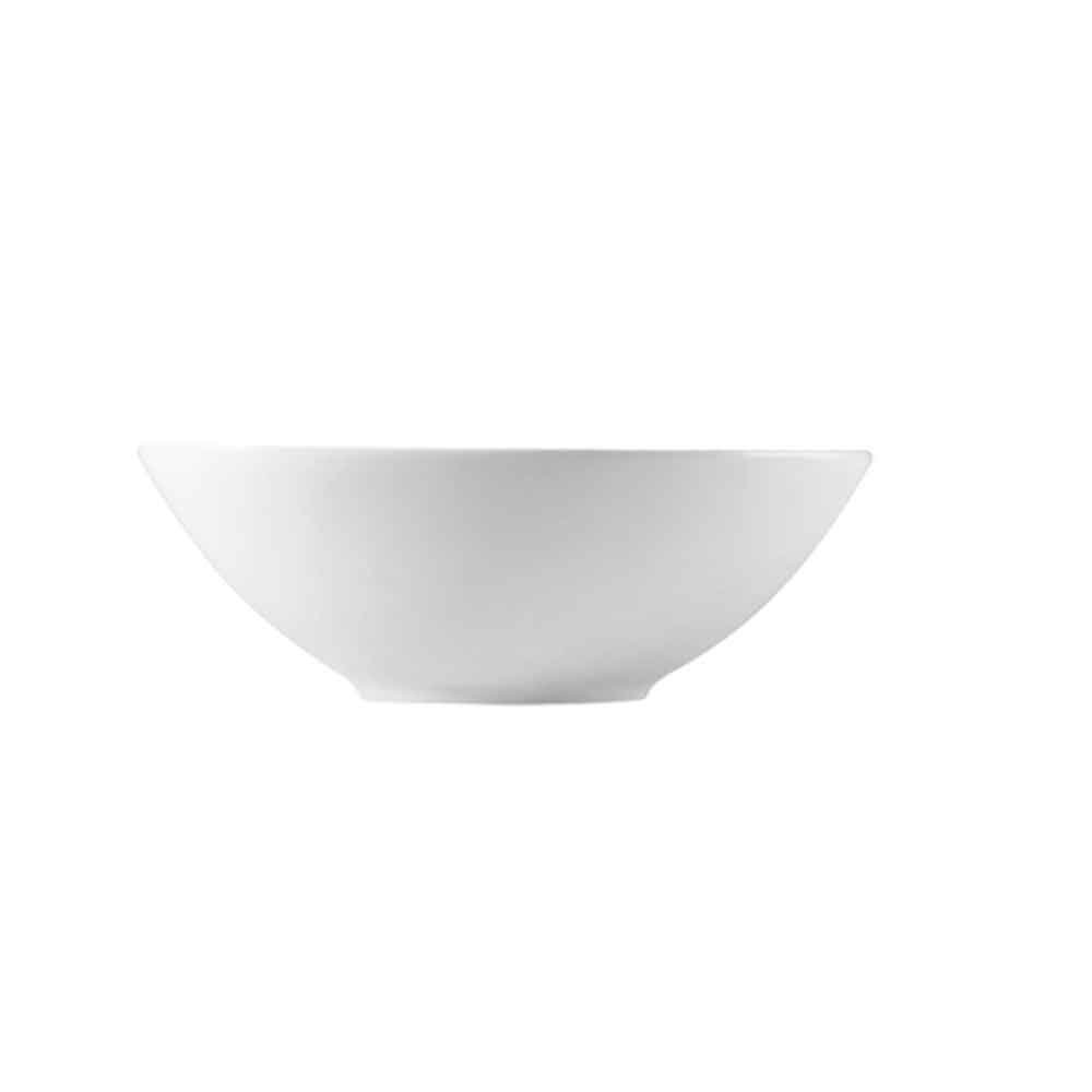 CAC China F-NB9 Clinton 32-Ounce Super White Porcelain Oval Bowl, 9 by 6 by 3-Inch, 24-Pack