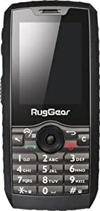 RugGear RG160, Unlock Rugged Smartphone - Waterproof IP68 - 3G Android Touchscreen (3G 850/1900MHz in the Americas, 3G 2100MHz in Europe, Asia, Middle East, Africa)