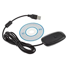 GoldenTrading PC Win7 Windows 8 Wireless Gaming USB Receiver Adapter For Xbox 360 Controller