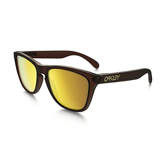 Oakley Men's Frogskins Non-Polarized Iridium Wayfarer Sunglasses 1 patented high definition optics (HDO) provides superior optical clarity and razor-sharp vision at every angle maximum clarity at all angles of vision with patented xyz optics glare reduction and tuned light transmission of iridium lens coating
