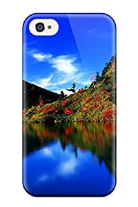 Hot New K Landscape Case Cover For Iphone 4/4s With Perfect Design